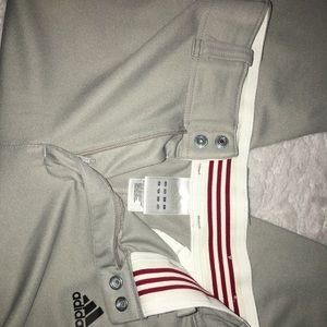 adidas Pants - Adidas Med Golf Baseball Climalite Grey Pants